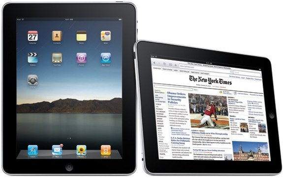 iPad new york times