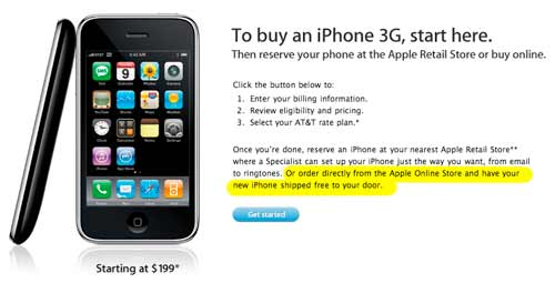 iPhone 3G Online