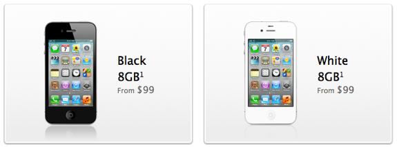 iPhone 4 $99