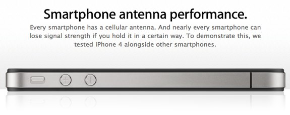 iPhone 4 antenna performance
