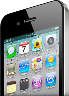 iPhone 4 glass