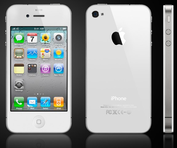 white iphone 4 delay
