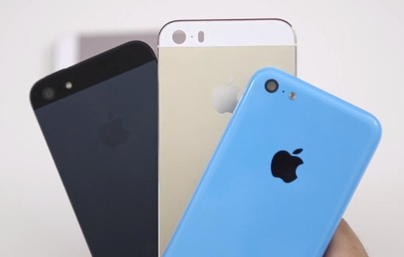 Apple iPhone 5, 5S, 5C compared