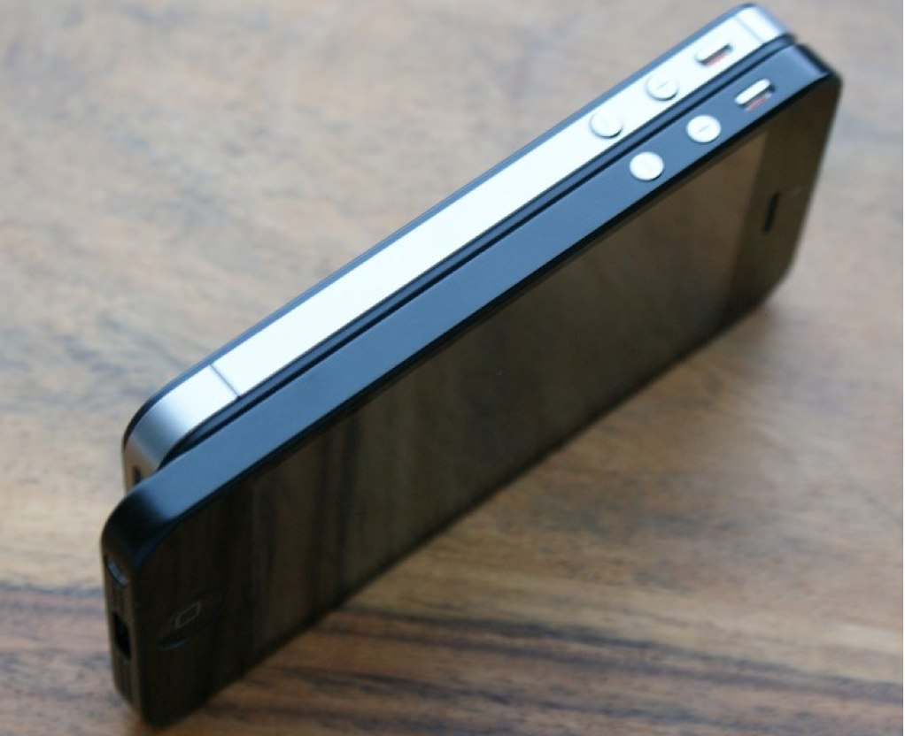 Black matte iPhone 5