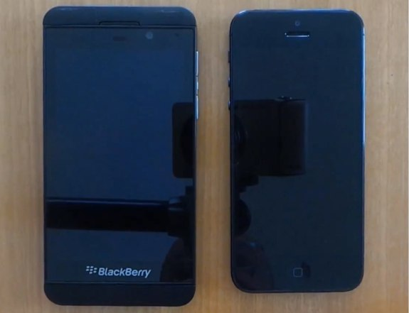 iPhone 5 vs BlackBery Z10