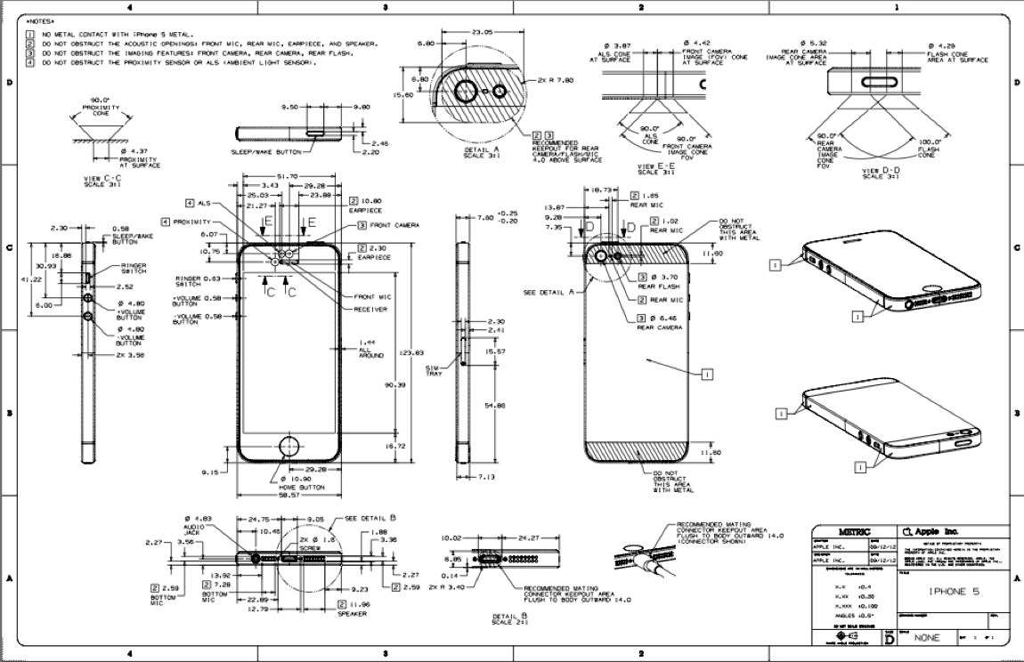 iPhone 5 schematics