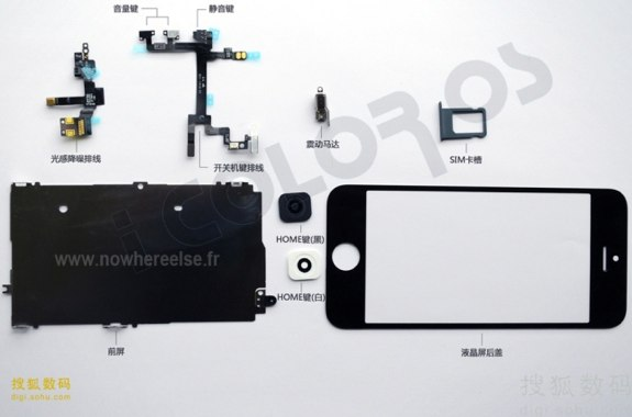 iPhone 5 parts