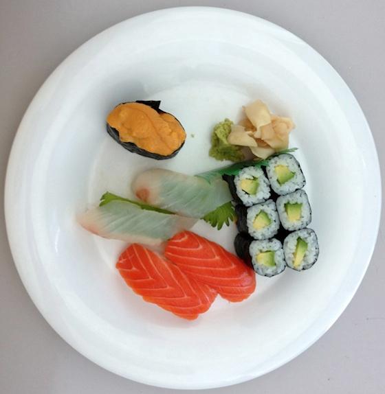 iPhone 5 camera sushi