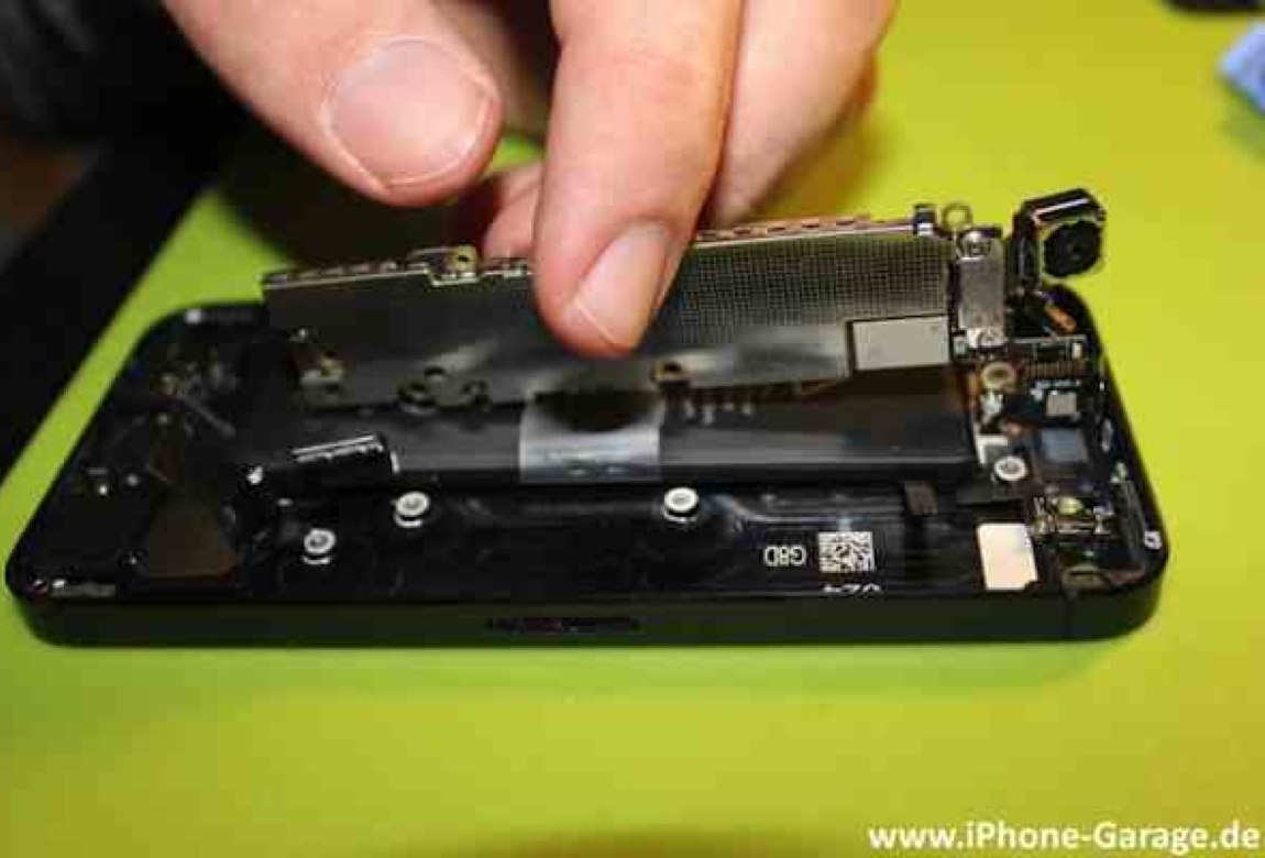iPhone 5 hardware teardown