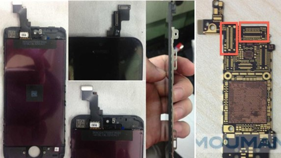 iPhone 5S leaked parts