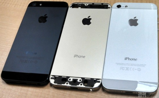 Gold iPhone 5S color comparison