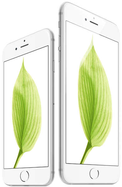 iPhone 6 Retina HD display