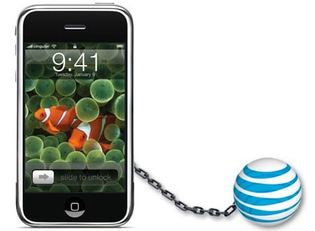At&amp;T iPhone exclusive 2011