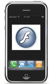 iPhone Flash plugin