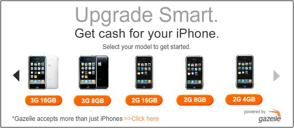 Get cash for iPhone trade in