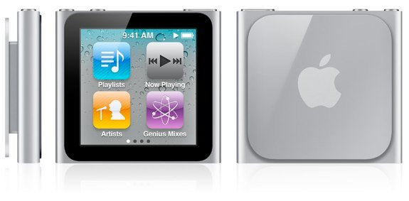 iPod nano multitouch