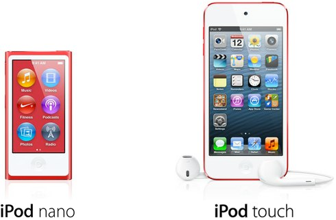 iPod touch nano sales