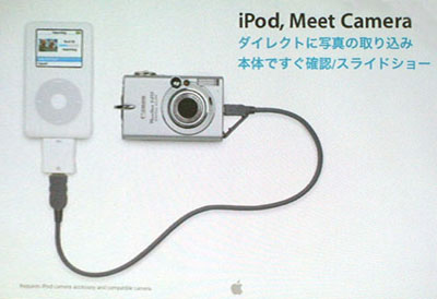 iPod Digital Camera Connector