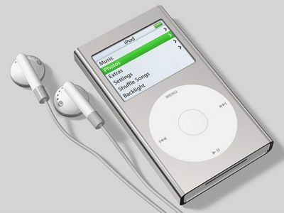iPod mini flash