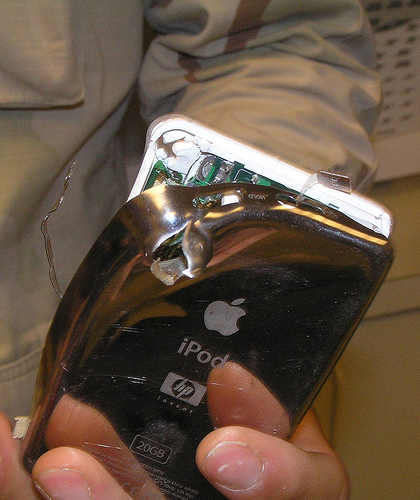 iPod takes a Bullet