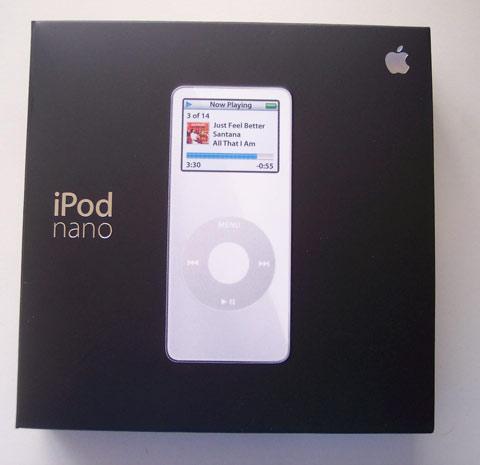 iPod nano Box