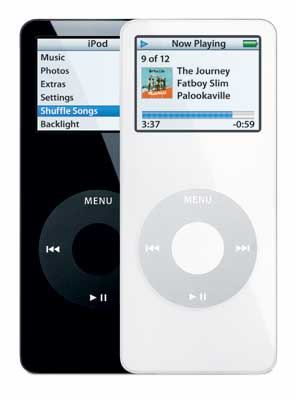 iPod nano Black and White