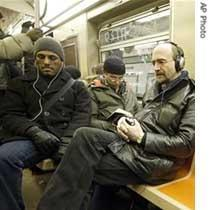 iPod Subway Users