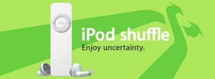 iPod shuffle 58%