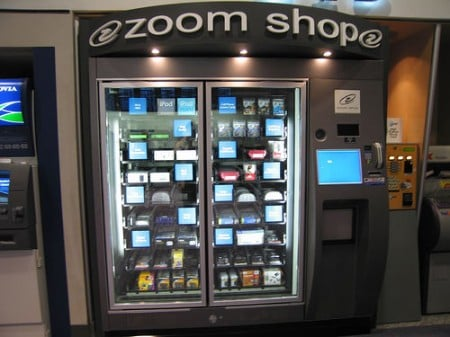 Zoom Shop iPod Vending Machine