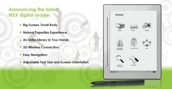 irex e-book reader