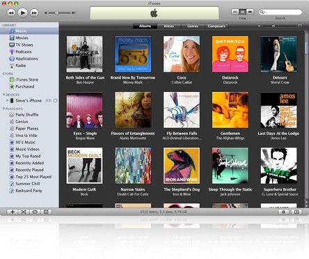 iTunes 8.01