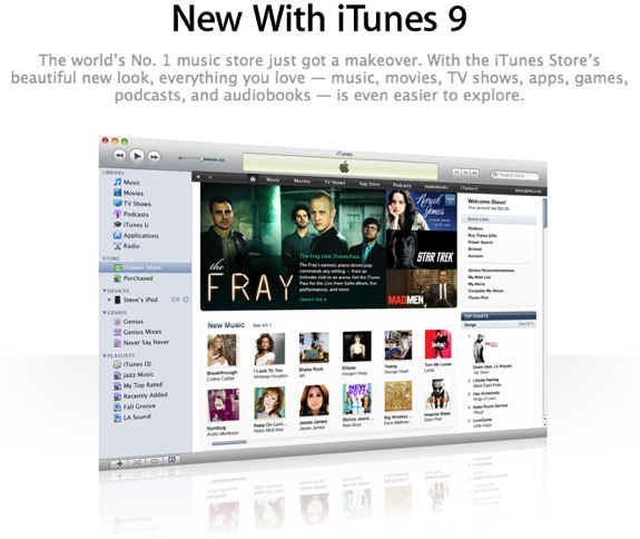 iTunes 9