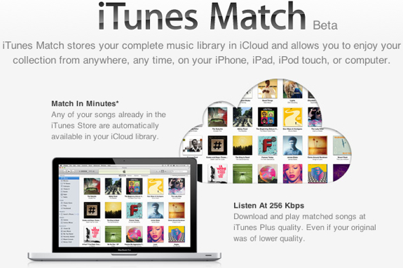 iTunes Match beta