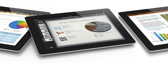iWork iPad Retina Display