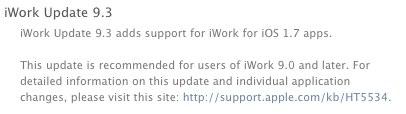 iWork update 9.3
