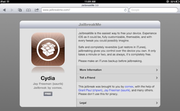 JailbreakMe 3.0