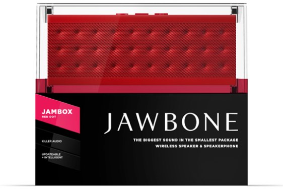 jawbone jambox red