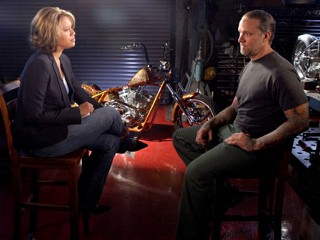 Jesse James with Vicki Mabrey on Nightline