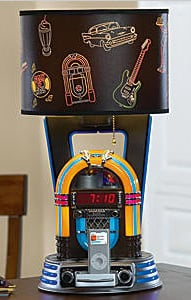 Jukebox Lamp/iPod Dock