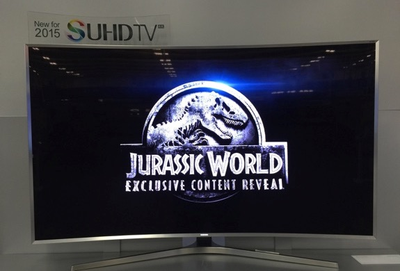 Samsung SUHD Jurassic World best buy
