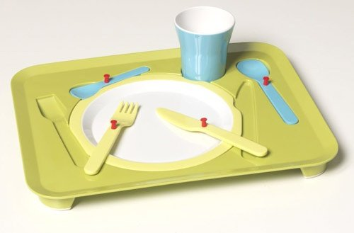 Kid Puzzle Dinner Tray