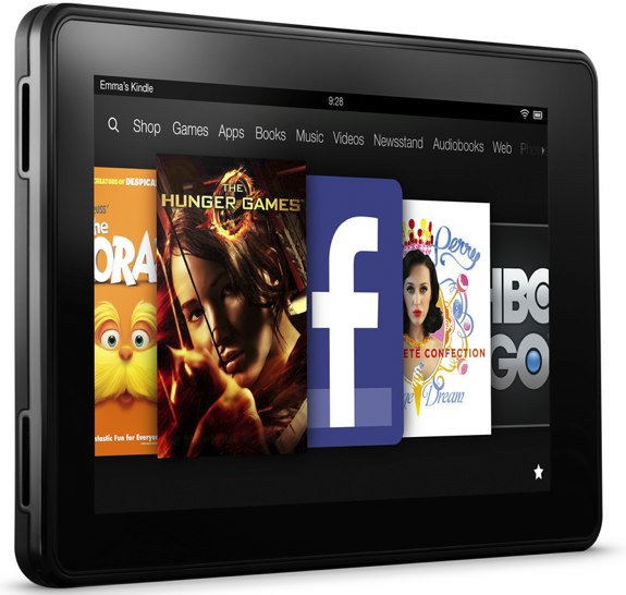 Amazon Kindle Fire 2012
