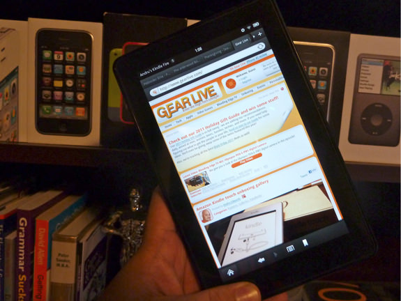 Kindle Fire sold out