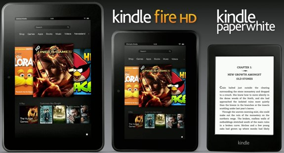 Amazon Kindle Family 2012