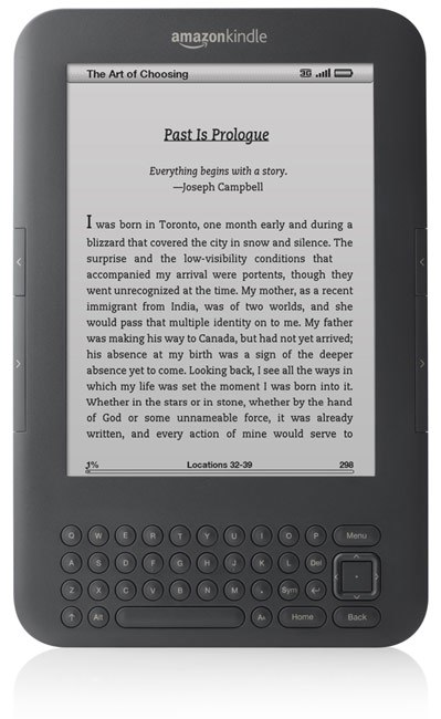 kindle 3 best selling amazon product