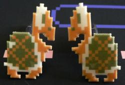 Koopa Cuff Links