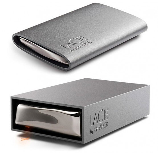 LaCie Philippe Starck Hard Drive