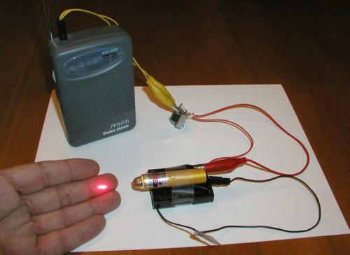 Laser pen Mod