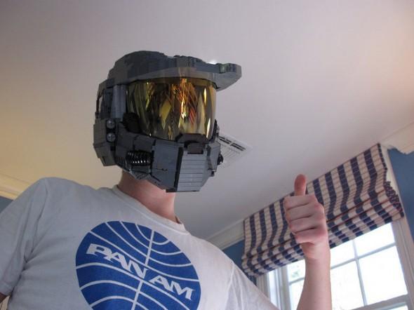lego master chief helmet