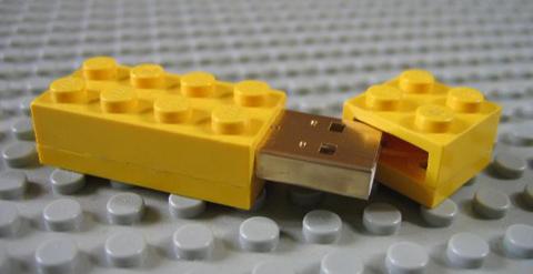 DIY Lego Memory Stick